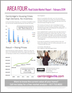 Area Four Market Report - February 2014