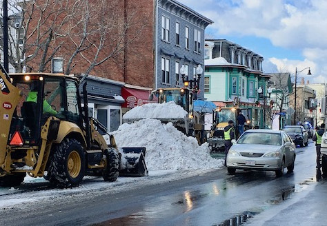 Snow: Cambridge v. Somerville