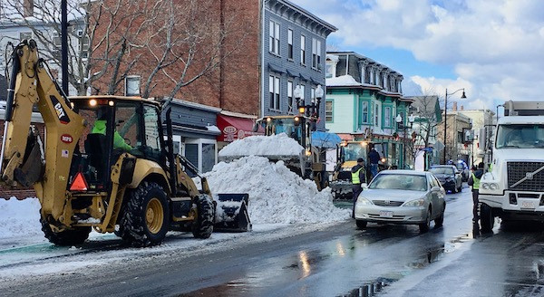 Somerville snow removal