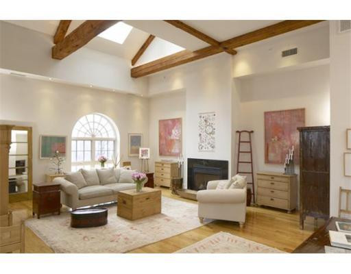 Living Room at 101 Third Street, Unit 4