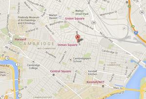 315 Elm Street, Cambridge -- MAP