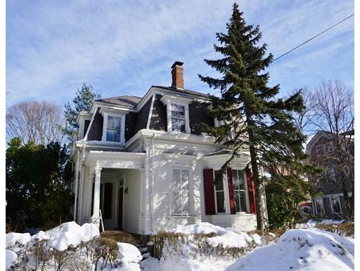 Sooo much potential for this gorgeous Cambridge Mansard