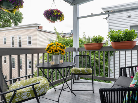 Hot property: enjoy the summer breezes from your deck!