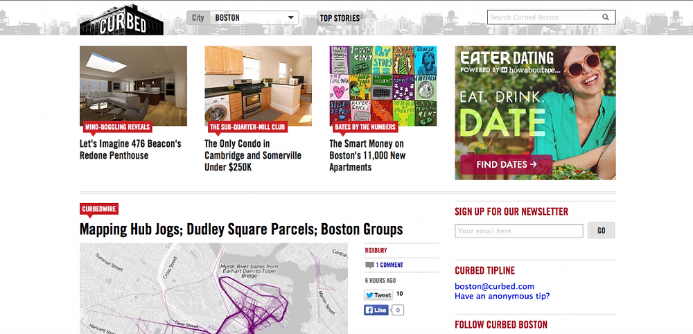 Cambridgeville Listing on Curbed Boston
