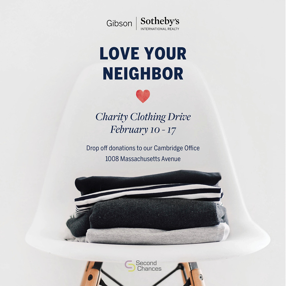Second Chances Clothing Drive