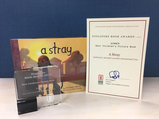A Stray wins Best Children's Picture Book at 2017 Singapore Book Publisher's Awards