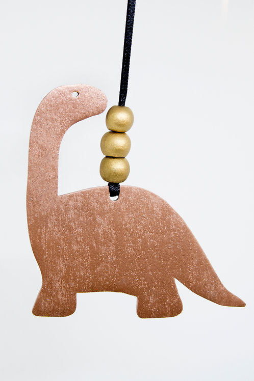 Dinosaur Hanging Decoration - Bronze