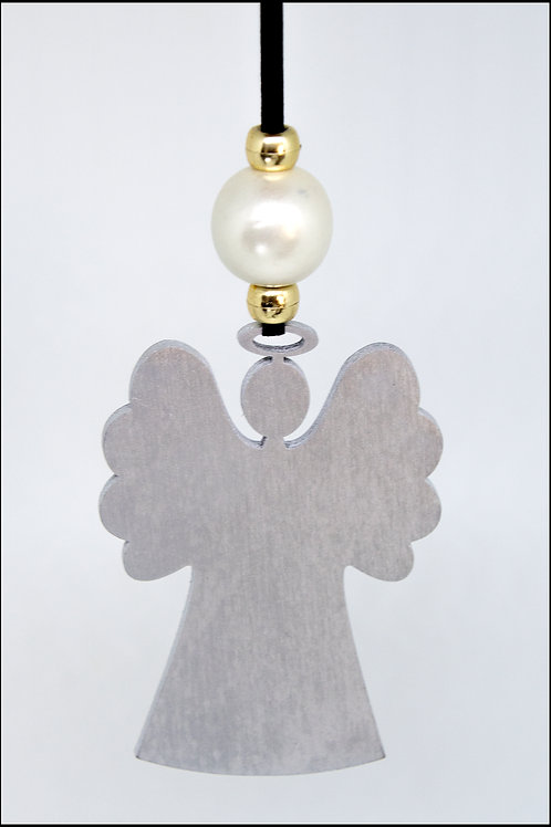 Angel Hanging Decoration - Silver