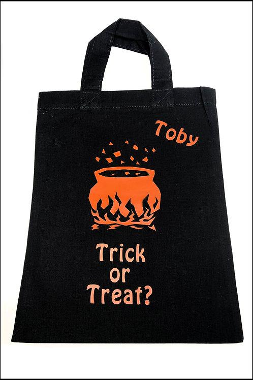 Cauldron Halloween Bag