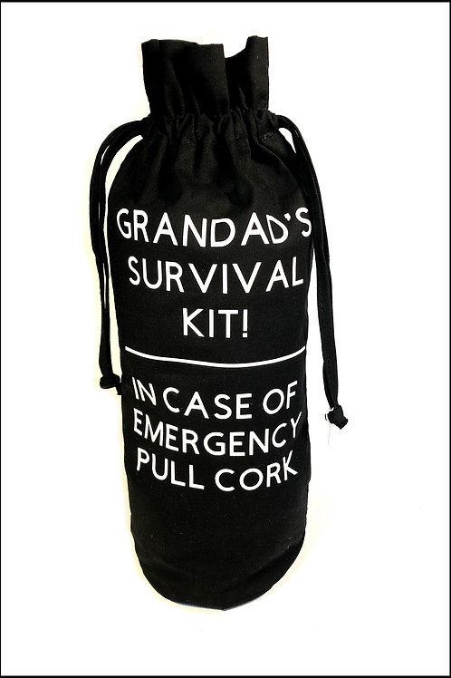 Survival Kit Bottle Bag