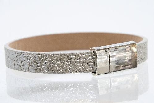 Single Strand Boho-Bracelet (Silver)