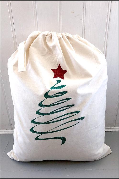 Abstract Tree Present Bag