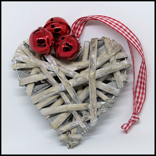 Small Wicker Heart