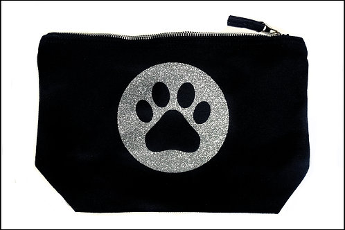Paw Print Wide Bottom Bag