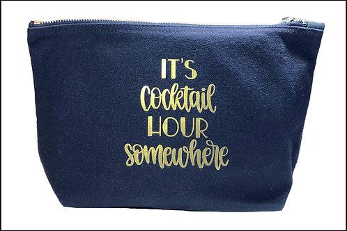 Cocktail Hour Bag (wide base)