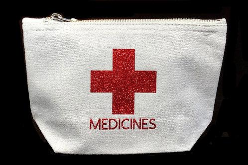 Medicine Bag (wide base small)