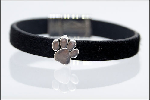 1 Strand Paw Print Charm Boho-Bracelet