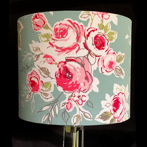 Pink Cabbage Roses Lampshades