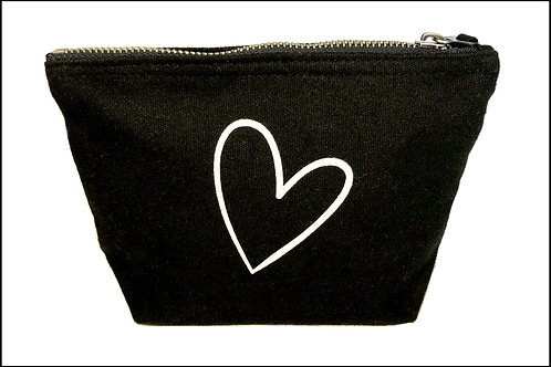 Heart Wide Bottom Bag