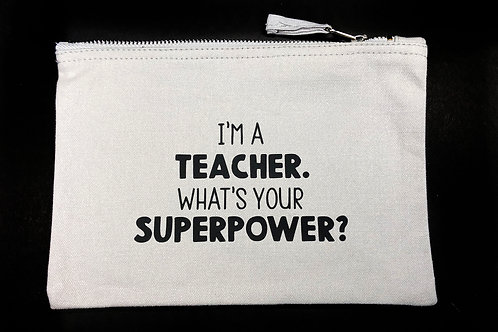 Superhero Bag (flat)