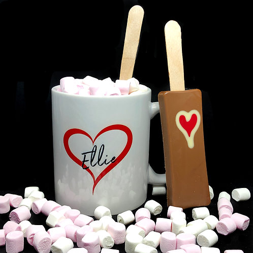 Personalised Heart / Name Mug