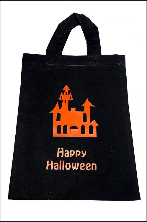 Haunted House Halloween Bag