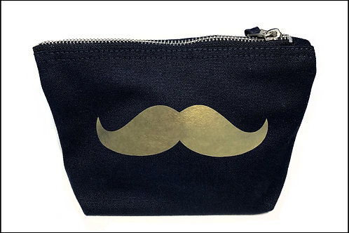 Moustache Bag (wide base) Medium