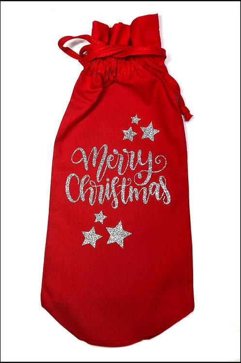 Merry Christmas Bottle Bag