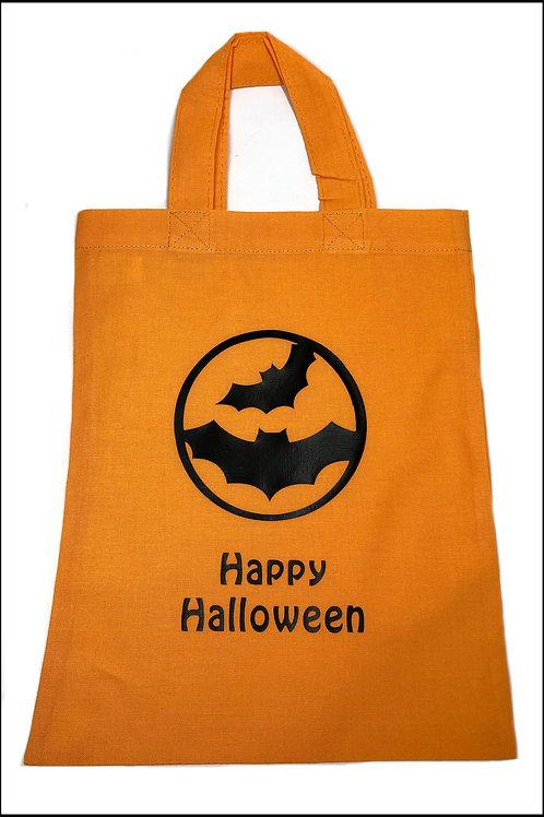 Bats Circle Halloween Bag