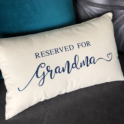 Reserved For... Cushions