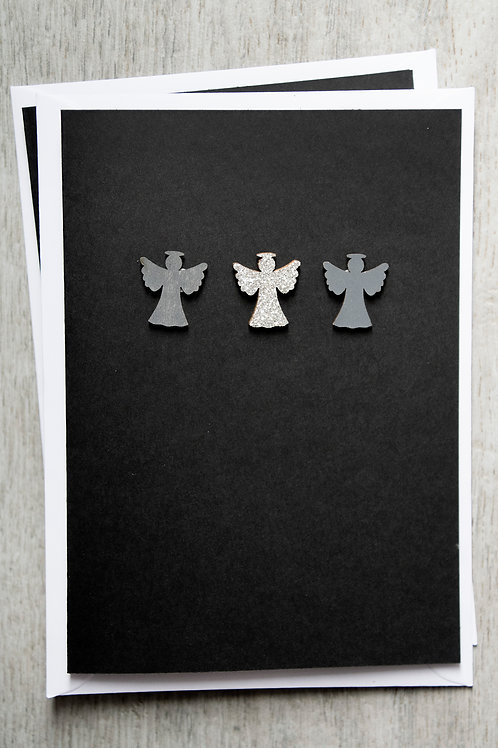 Christmas Card - Angels