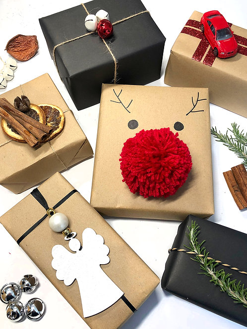 Christmas Gift Wrapping Workshop
