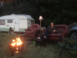 wild camping in style
