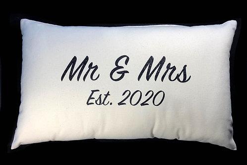 Mr and Mrs Cushion