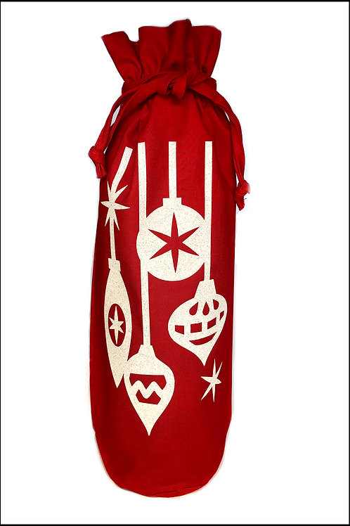 Baubles Bottle Bag