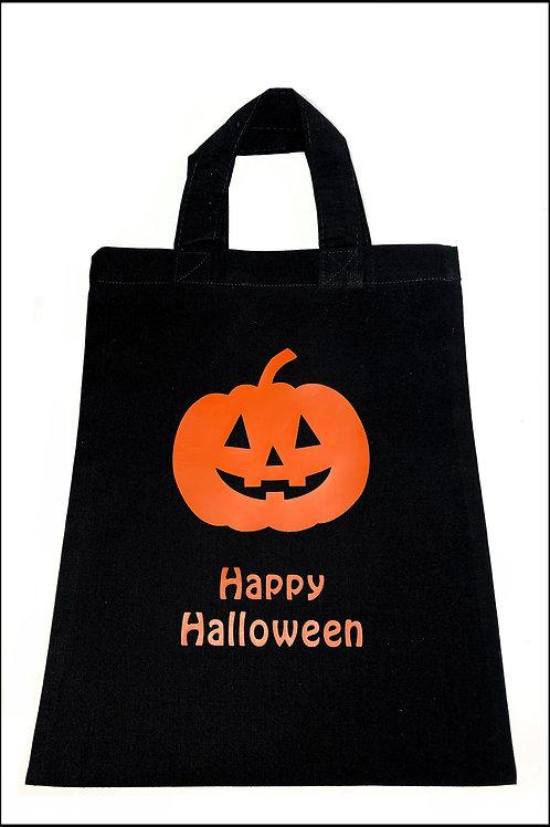 Happy Pumpkin Halloween Bag
