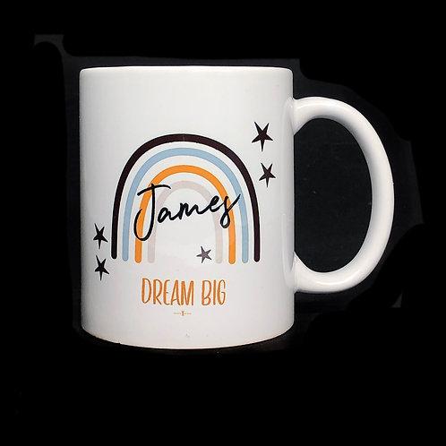 Personalised Rainbow / Name Mug