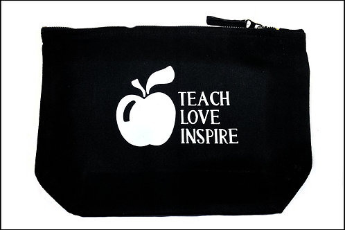 Teach Love Inspire Wide Bottom Bag