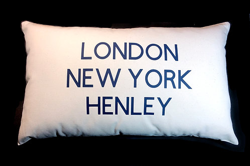 Three Cities Cushion