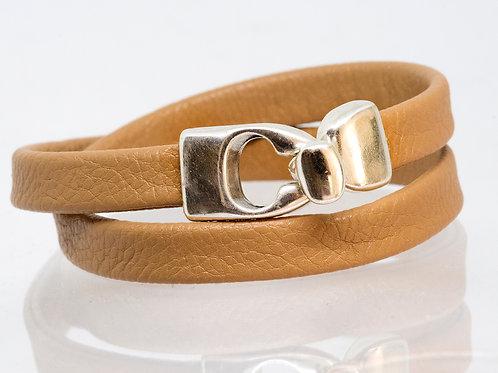 Wrap-around Boho-Bracelet (tan)