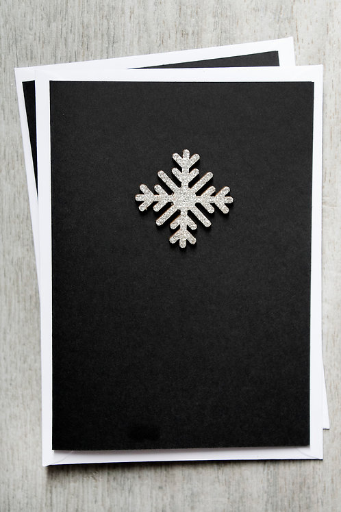 Christmas Card - Snowflake 1