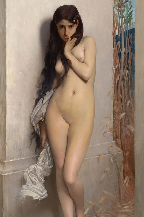 """La Cigarra"" (The Grasshopper) by Jules Lefebvre, 1872"