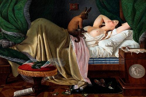 """Nightmare"" by Ditlev Blunck, 1846"