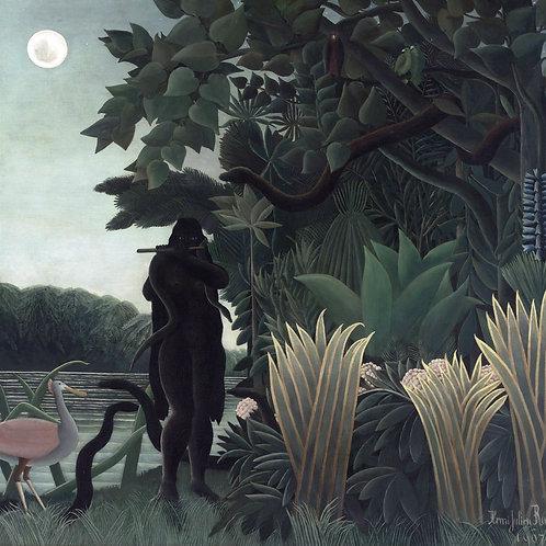 """Snake Charmer"" by Henri Rousseau, 1907"