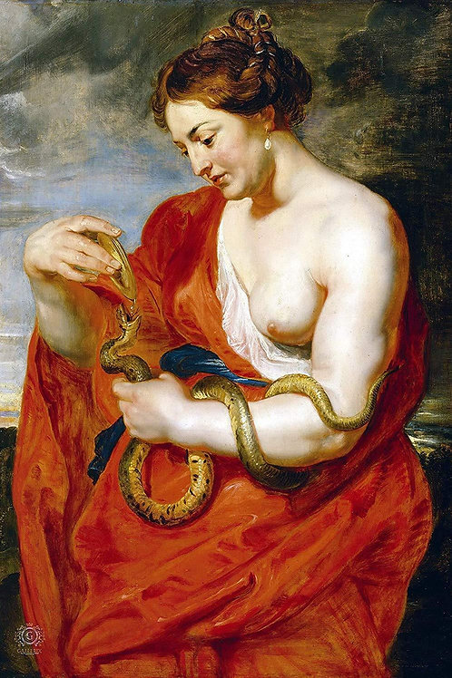 """Hygieia"" by Peter Paul Rubens, c.1615"