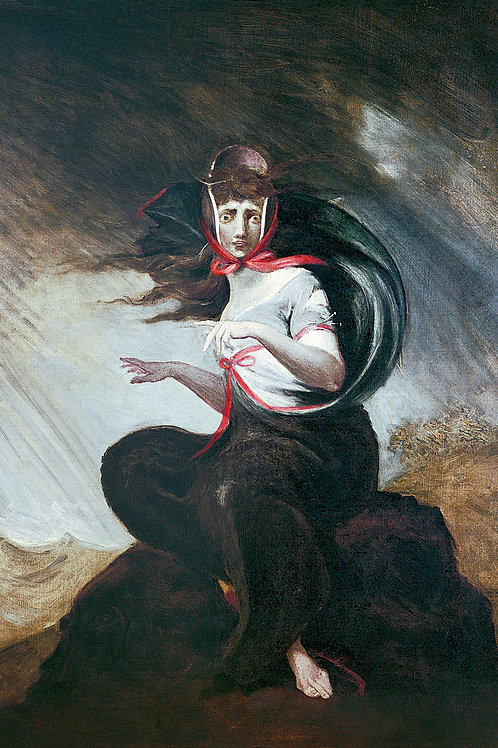 """""""Mad Kate"""" by Henry Fuseli, c.1806"""