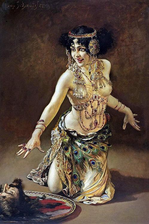 """Dance of Salomé"" by Leopold Schmutzler, 1907"