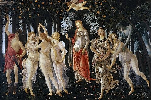 """""""Primavera"""" by Sandro Botticelli, 1482"""
