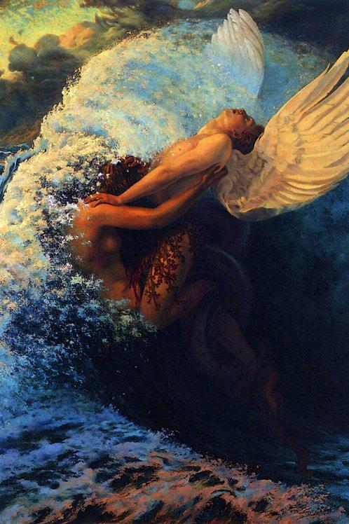 """""""Spleen et Ideal"""" by Carlos Schwabe, 1907"""