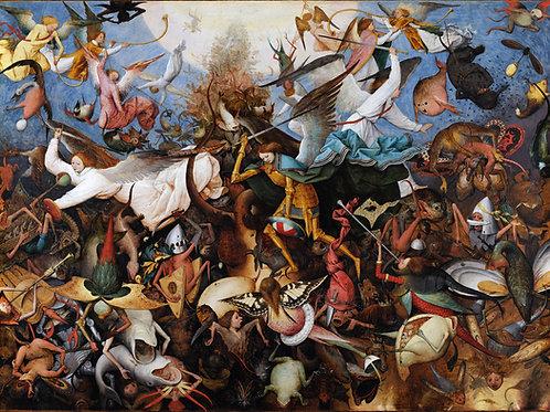 """The Fall of The Rebel Angels"" by Pieter Bruegel The Elder, 1562"